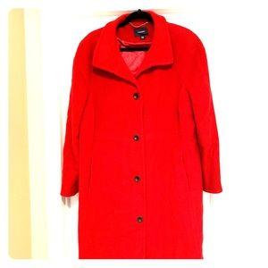 Plus Size Dressy Wool Pea Coat